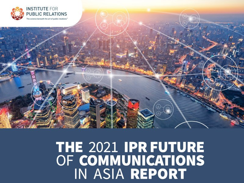 IPR Report Encapsulates Asia's Key Communications Drivers